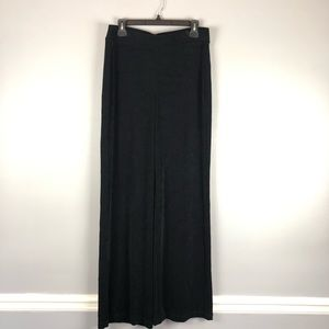 Chico's 1 Tall Travelers Lounge Comfy Pants Black